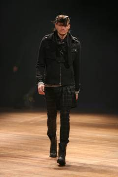 DIET BUTCHER SLIM SKIN 2007-2008 autumn & winter collection look 007_mini