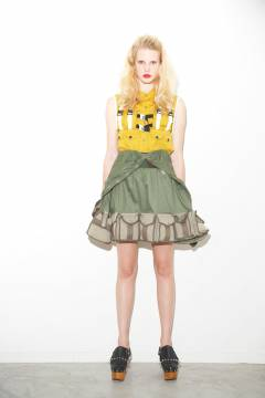 banal chic bizarre 2011 spring & summer  womens collection look 001_mini