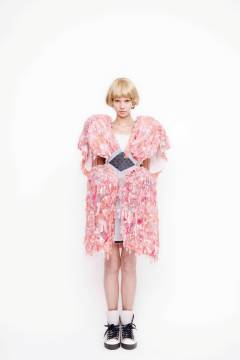 HISUI 2011 spring & summer collection look 1