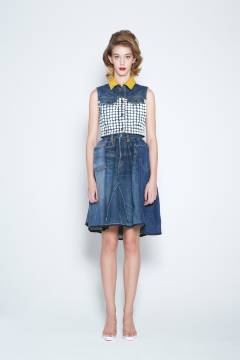 banal chic bizarre 2013 spring & summer womens collection look 6
