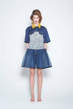banal chic bizarre 2013 spring & summer womens collection look 7