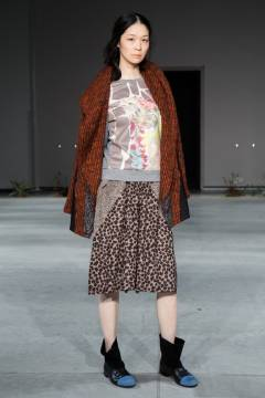IN-PROCESS BY HALL OHARA 2013-2014 autumn & winter collection look 15
