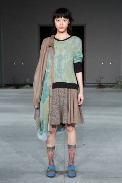IN-PROCESS BY HALL OHARA 2013-2014 autumn & winter collection look 18