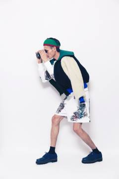 banal chic bizarre 2013-2014 autumn & winter mens collection look 2