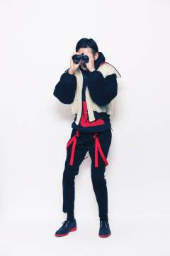 banal chic bizarre 2013-2014 autumn & winter mens collection look 4
