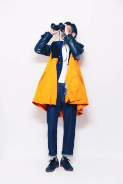 banal chic bizarre 2013-2014 autumn & winter mens collection look 12